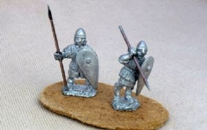 FEF13 12th C English Infantry spearman